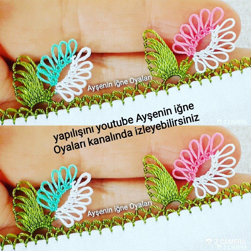 2019 Çeyizlik Osmanlı Modeli İğne Oyası Yapımı Videolu