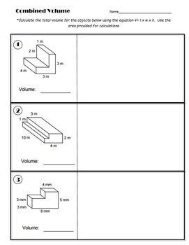 5th Grade: Combined Volume Classwork II | Common Core Math ...