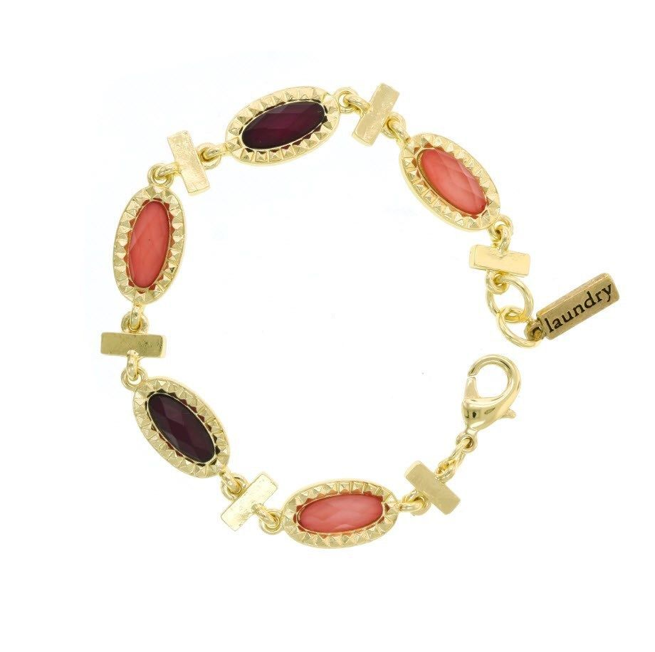 Laundry by shelli segal chic color block delicate gems clasp