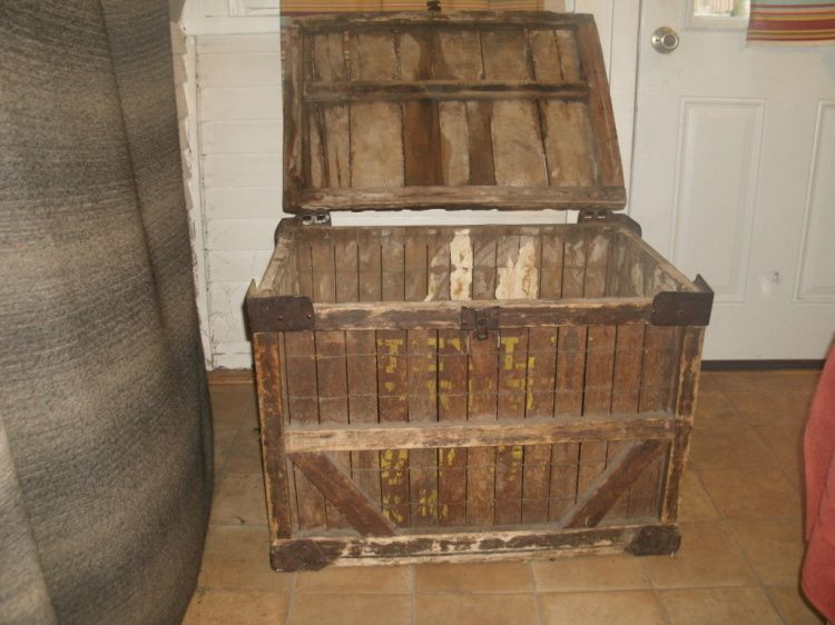 Old Large Box Crate