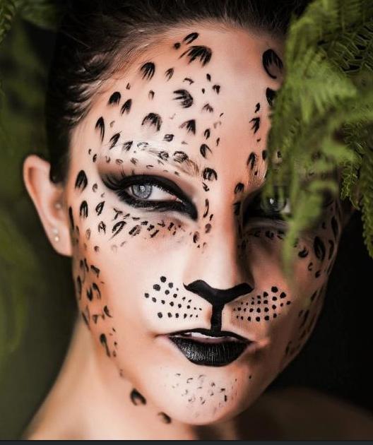 Cougar Halloween Makeup.Pin On Halloween