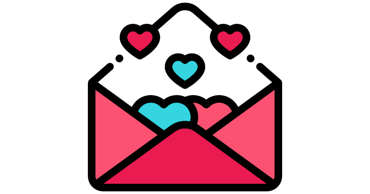 Love Letter Free Vector Icons Designed By Freepik Vector Free Free Icons Vector Icon Design