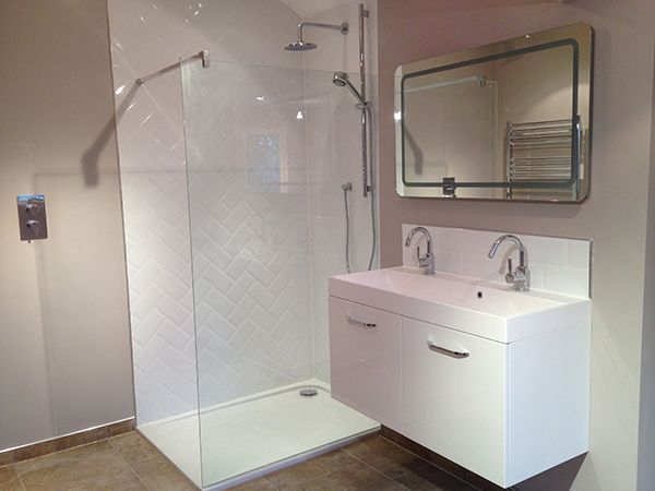 Marvelous Finished Shower Enclosure With Bathroom Installation In Leeds