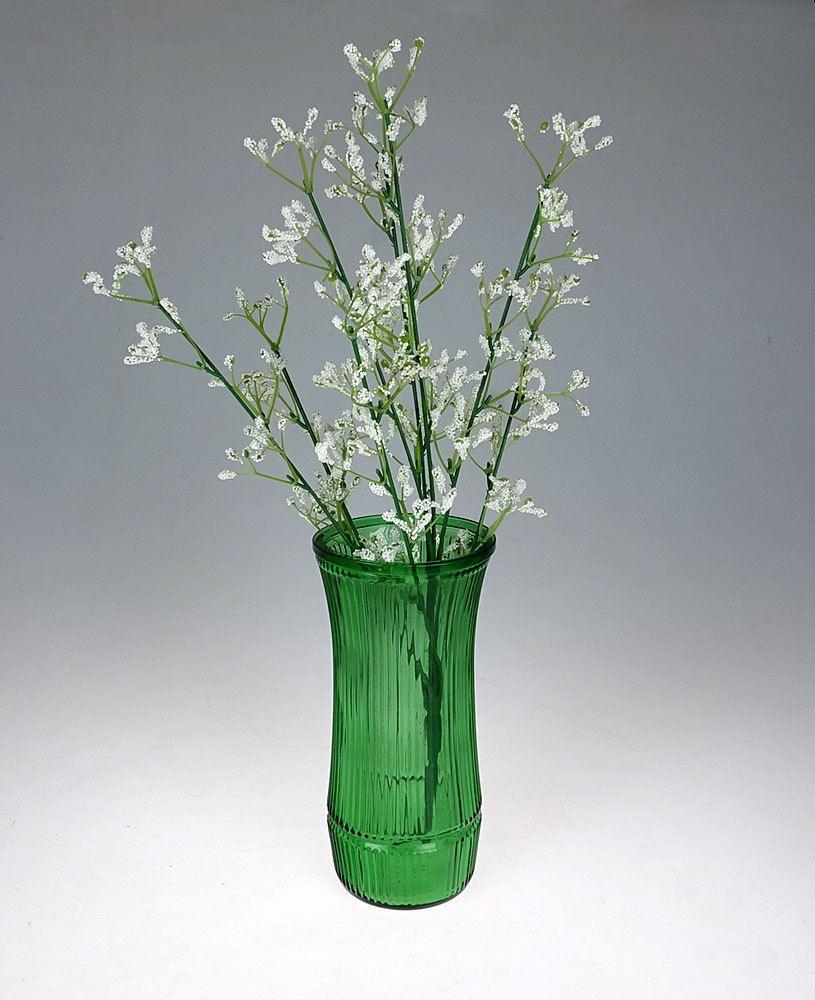 Vintage green glass flower vase hoosier glass co emerald green vintage green glass flower vase hoosier glass co emerald green vase by the1608shop on reviewsmspy
