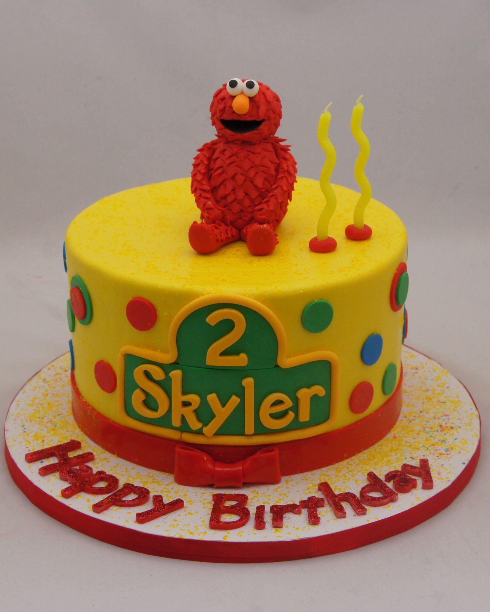 3d gumpaste elmo keepsake cake topper cupcake cakes