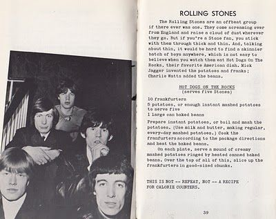 Hot Dogs On the Rocks ~ Rolling Stones