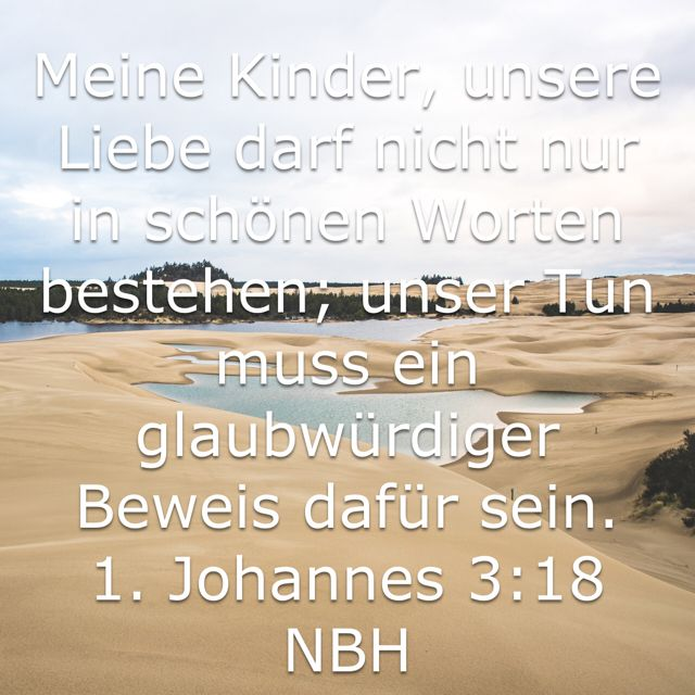 christliche Lieder über unsere Worte