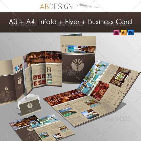 14 Creative 3 Fold Photoshop Indesign Brochure Templates Bashooka Brochure Design Template Indesign Brochure Templates Web Graphic Design