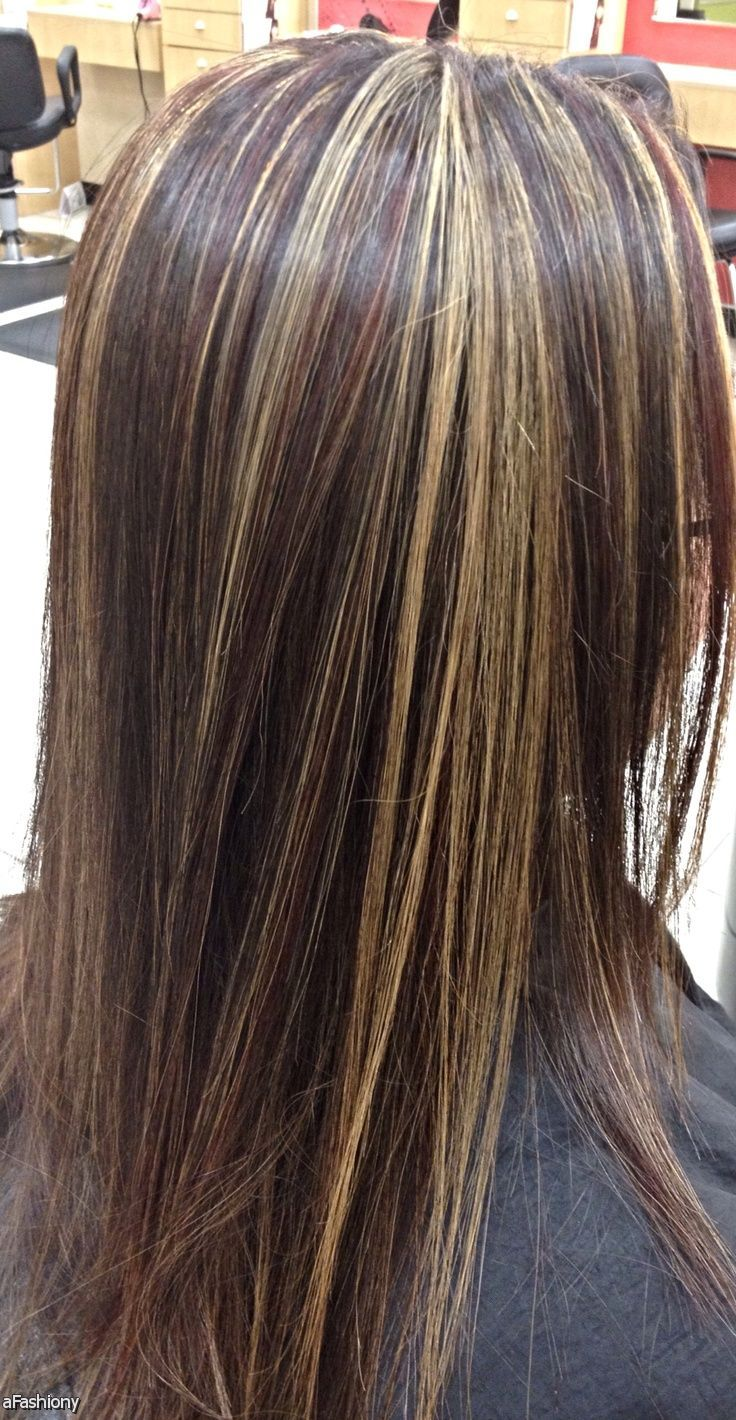 Blonde Highlights With Black Lowlights 2016 2017 Fashion 2016
