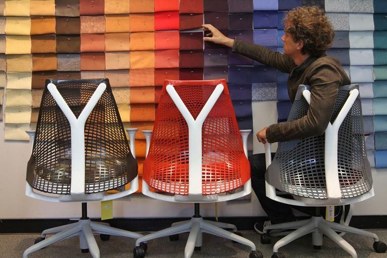 yves behar fuseproject sayl chairs for herman miller - Sayl Chair