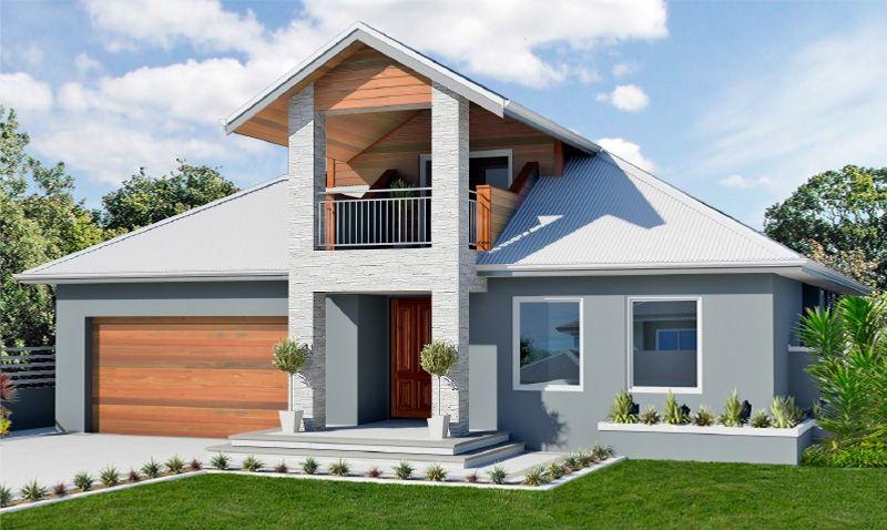 Elegant double story home design casas pinterest for Loft home designs perth