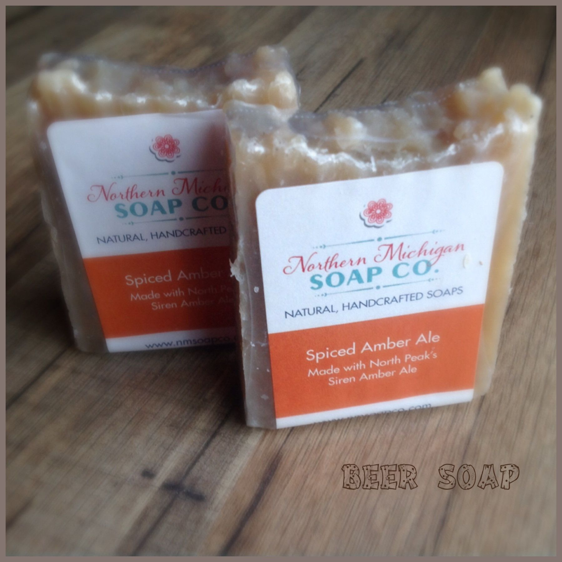 Spiced Amber Ale Beer Soap