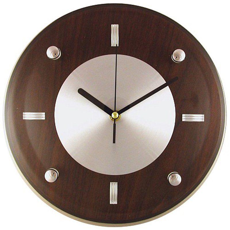 Frazer 11 Wall Clock Reviews Allmodern Silver Wall Clock Wall Clock Round Wall Clocks