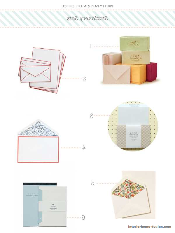 Quite Paper In The Workplace: Stationery Sets - http://www.interiorhome-design.com/wedding-design-ideas/quite-paper-in-the-workplace-stationery-sets.html