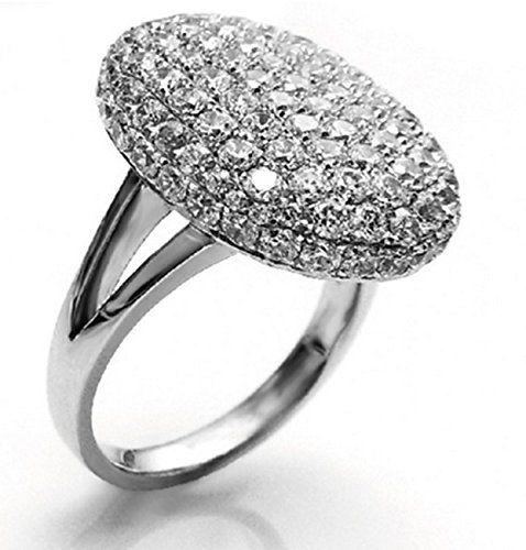 Twilight Bella Ring Ringe Verlobungsring silber Strass Kristall