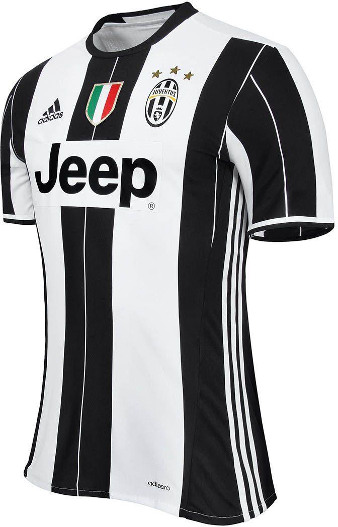 the new juventus 16-17 home kit reinterprets the traditional black