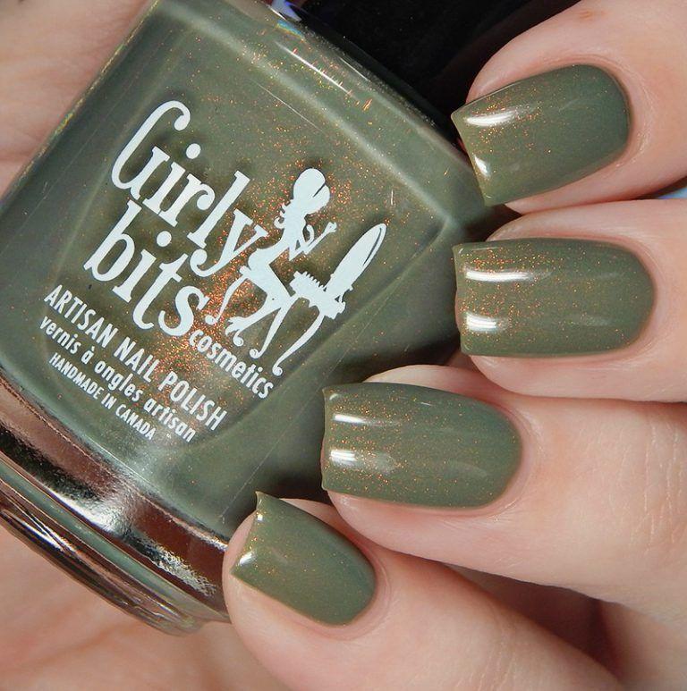 Y Bits We Olive Nail Polish Colors