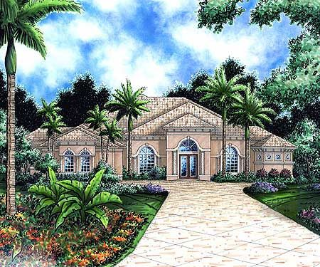 Plan 66120gw Mediterranean House Plan With Arched Windows Mediterranean Homes Mediterranean House Plan Mediterranean House Plans