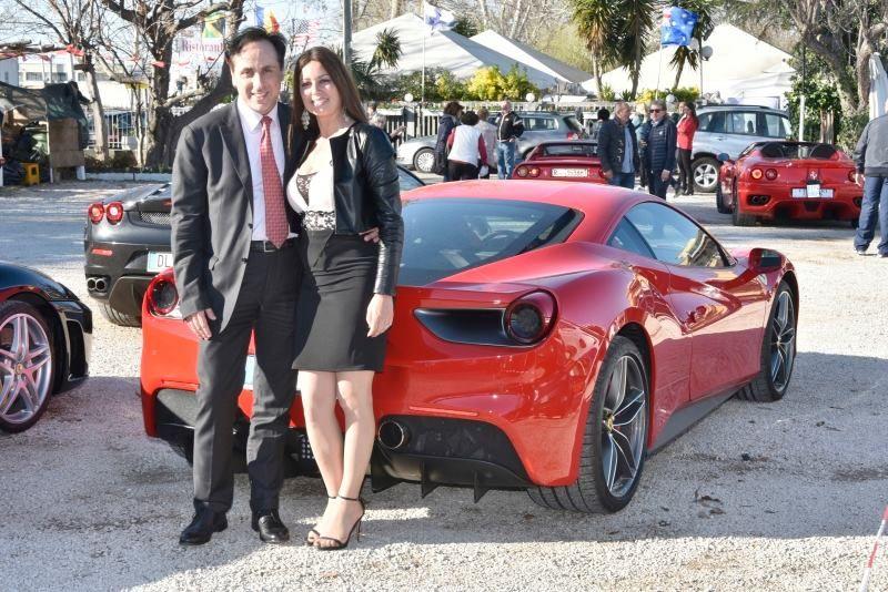Antonello De Pierro e Roberta Marzullo ospiti al Ferrari Awards di Anzio