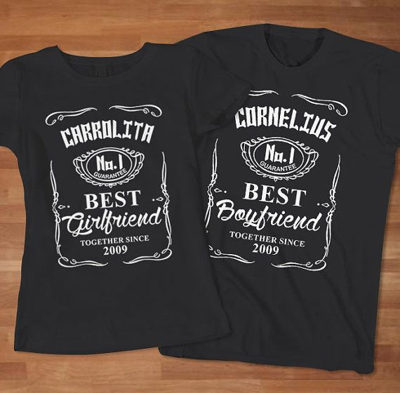 fb6fd86cc7d11 Funny Parody Jack Daniels Couple TShirt by Sarimbittees on Etsy ...