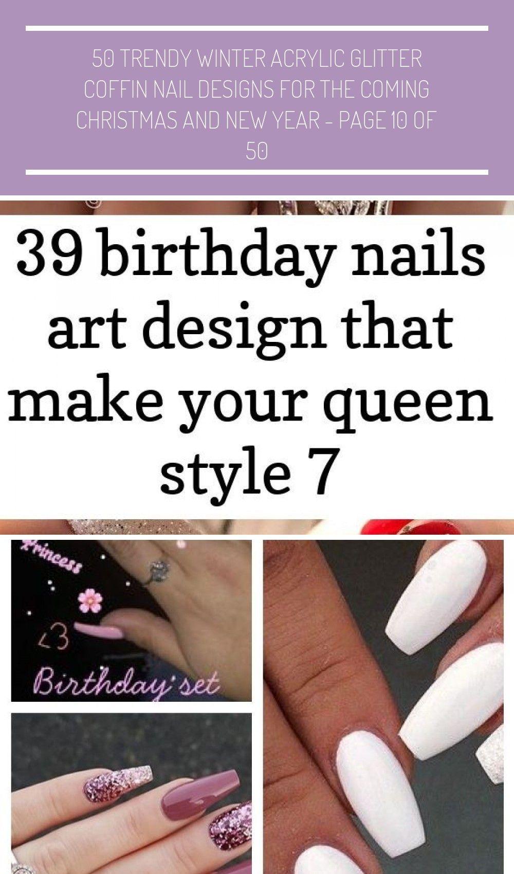 Fascinating Coffin Acrylic Nails Birthday Nails Design Queen Nails Art Gebrannte Mandeln Selber Machen Rezept Fur Gebrannte Mandeln Kasekuchen Mit Keksboden