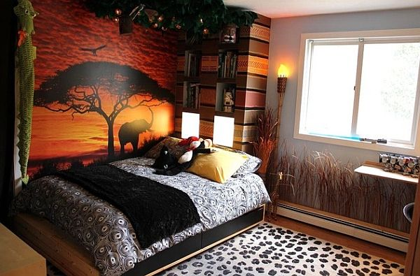 African Inspired Interior Design Ideas  Safari theme and