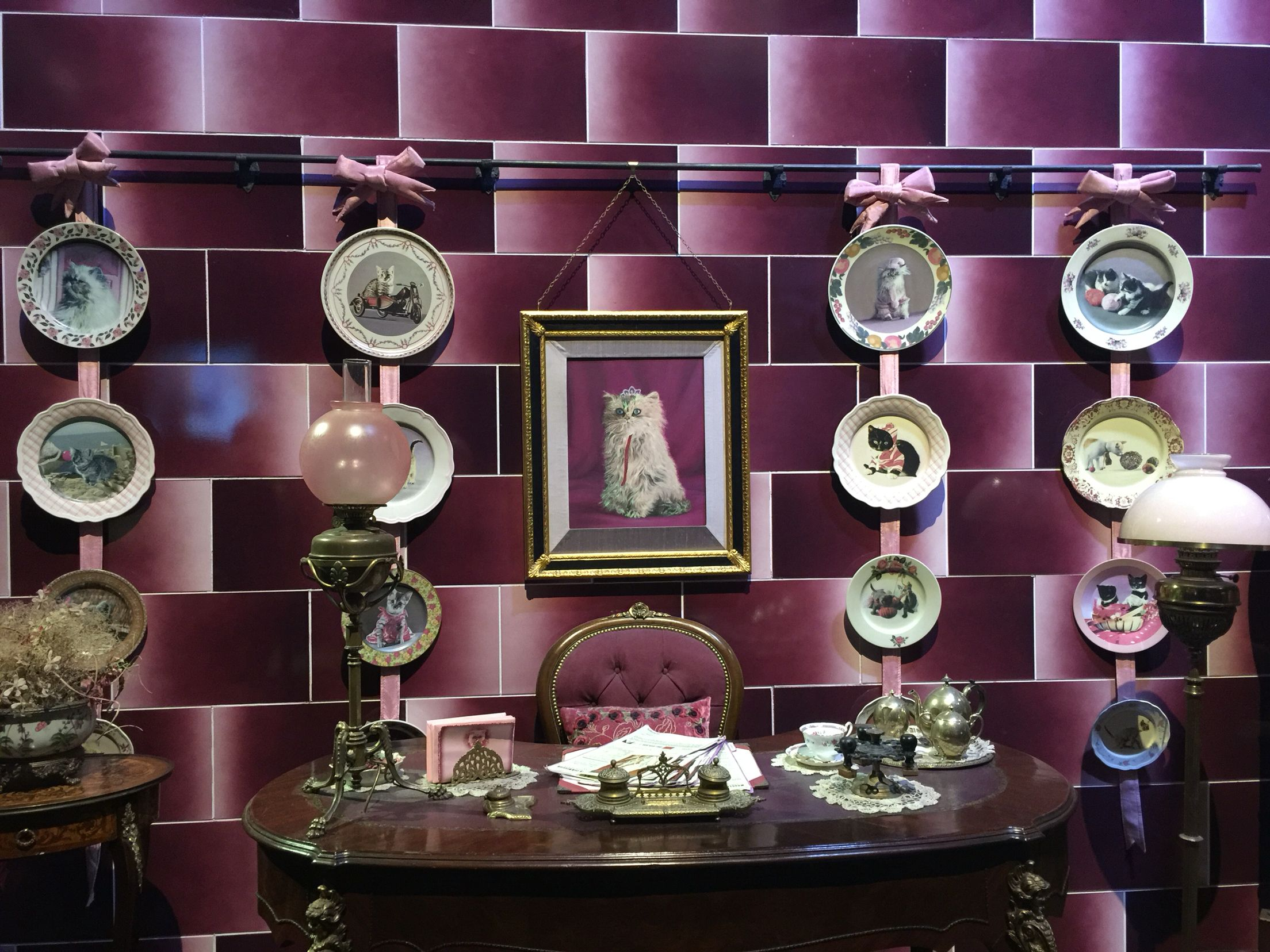 dolores umbridge s office harry potter world london kitties rh pinterest com