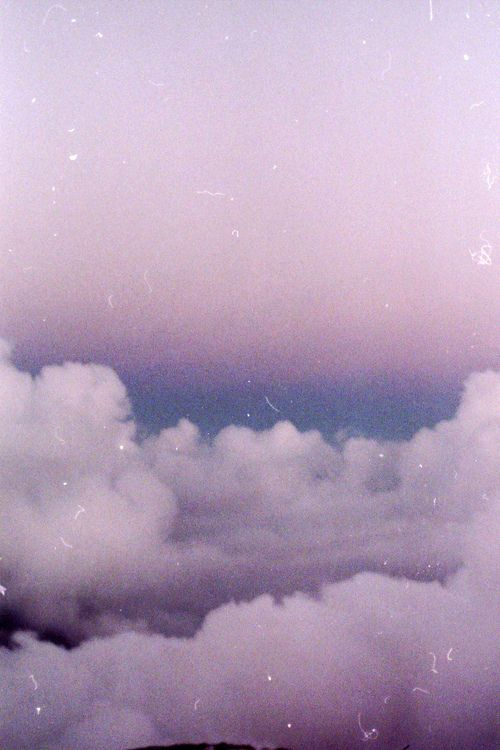 Lilac Clouds In The Sky Iphone Wallpaper Tumblr Aesthetic