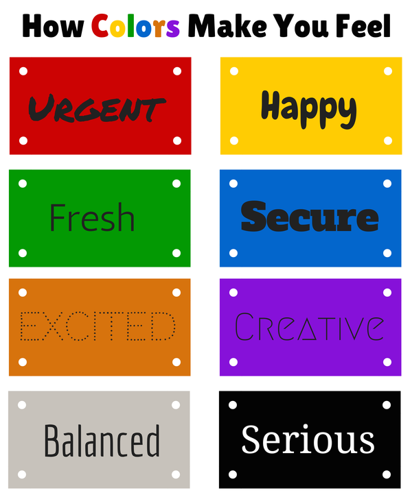 Colors That Make You Happy 10 essential elements of a landing page   10 essentials and brand