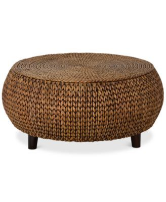 Charmant Macyu0027s $440 Dawkins Low Round Accent Table, Quick Ship