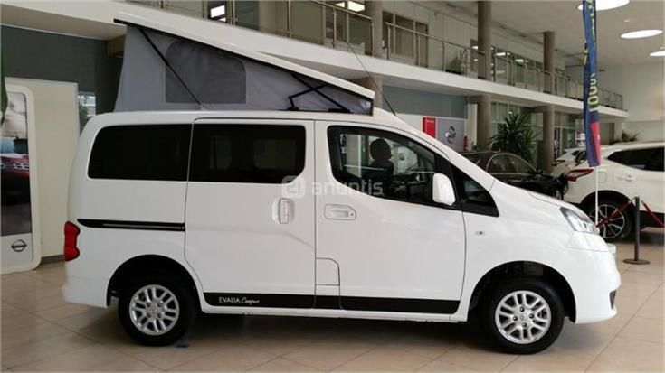 nissan evalia camper en barcelona auto abitabili pinterest nissan and bus camper. Black Bedroom Furniture Sets. Home Design Ideas
