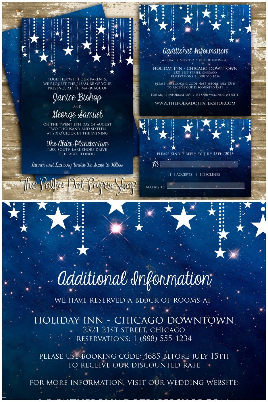 16 Starry Night Celestial Wedding Invitations To Light Up Your Life Celestial Wedding Invitations Wedding Invitations Fun Wedding Invitations