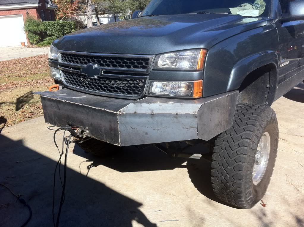 My Custom Bumper Build Diesel Place Chevrolet And Gmc Diesel