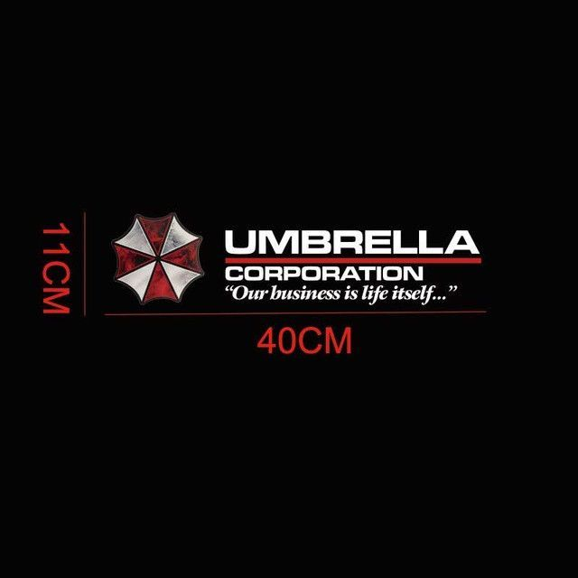 Resident Evil Umbrella Corporation Sticker Products