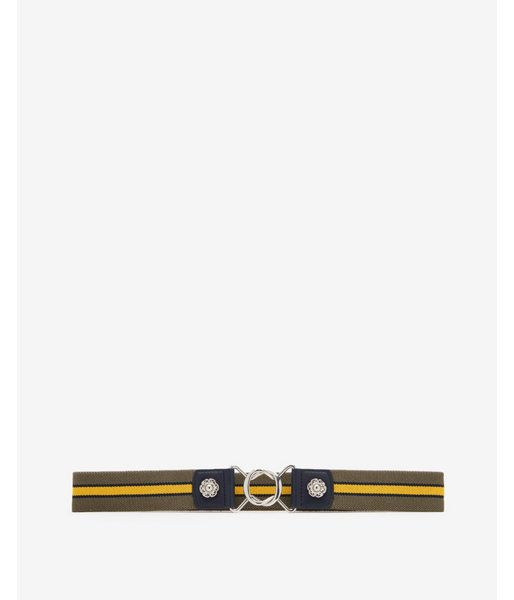 99b906850f Striped Stretch Belt Yellow Women's XS/S | Products | Stretch belt ...