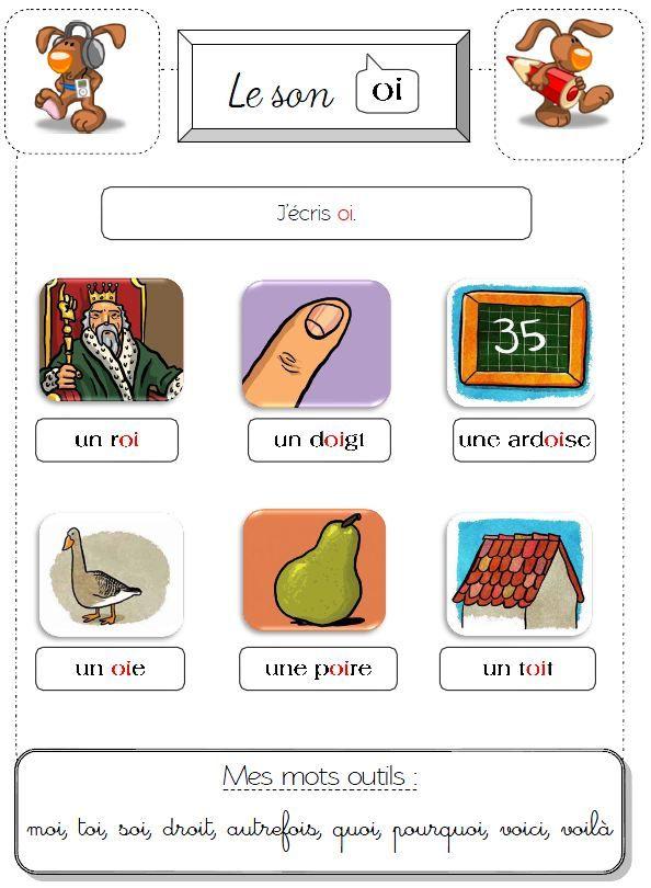 Sons OI et X   Sons / phonèmes / syllabes   Aprender ...