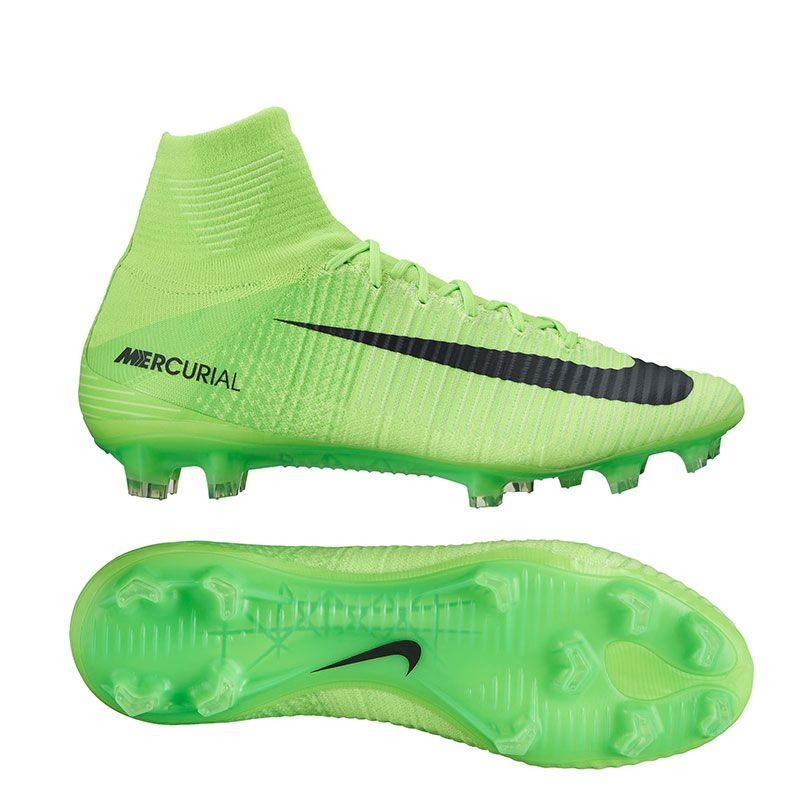 Nike Mercurial SuperFly V FG Soccer Cleats (Electric Green/Black/Ghost  Green/White) | 831940-305 | SOCCERCORNER.COM