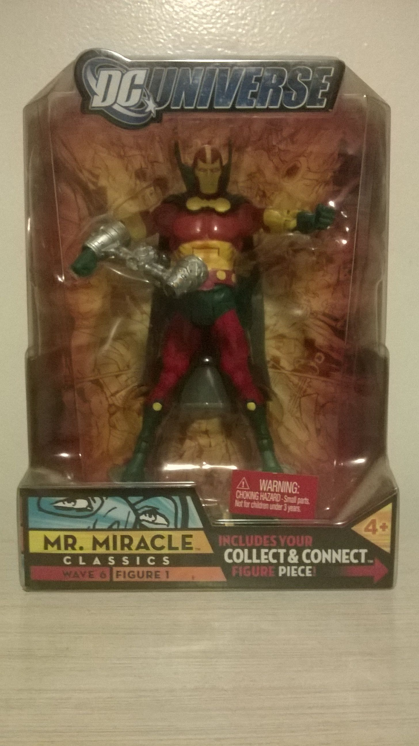 DC Universe Mister Miracle Figure.