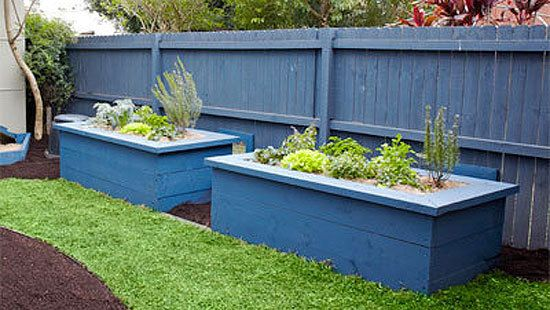 How To Make Timber Raised Garden Beds