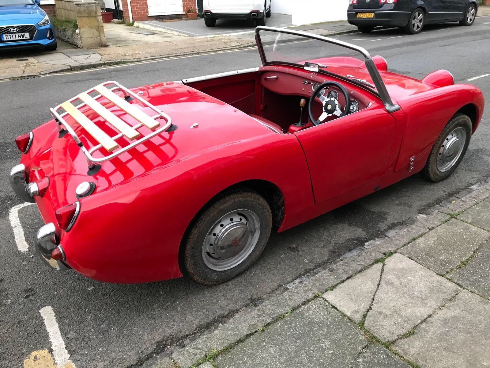 eBay: AUSTIN HEALEY FROGEYE SPRITE 1960 FOR SALE ( Reg No 761 UYY ...