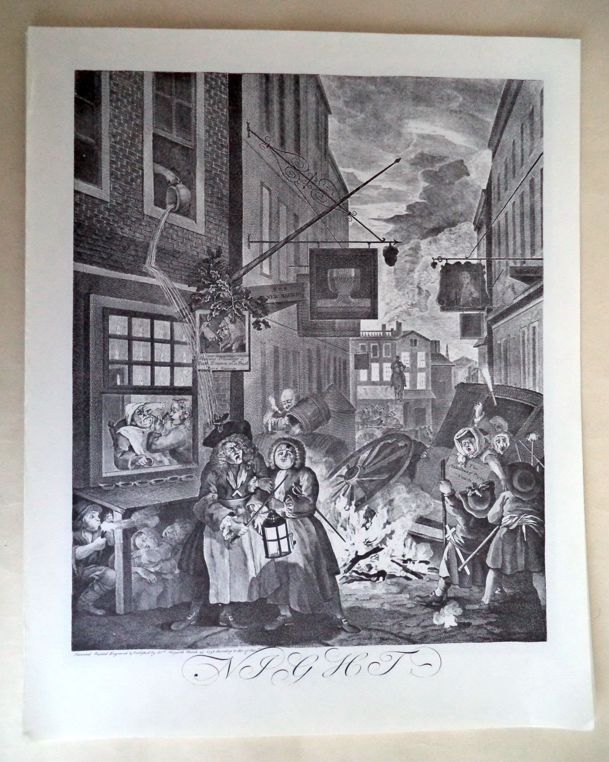 Characters And Caricaturas By William Hogarth 1743 William