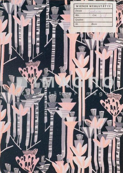 Mathilde Flögl, Amazonas. 1929. Wiener Werkstätte | Patterned ...