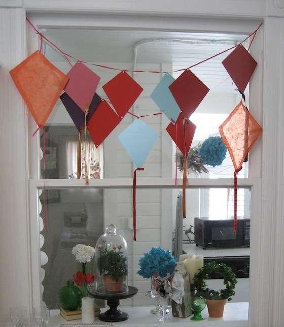 Makar sankranti special kite inspired interior decor india for Decoration kite