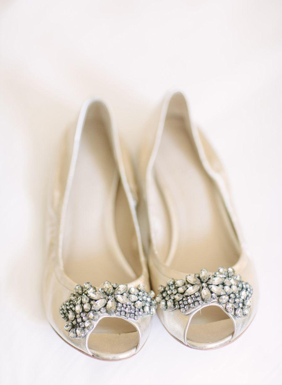 Elegant Florida Resort Wedding From Justin Demutiis Photography Wedding Shoes Bridal Flats Wedding Shoes Flats