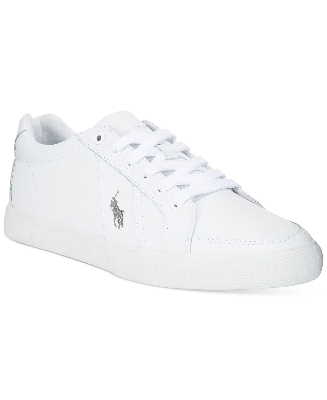 43b6b18aa2c6ce Polo Ralph Lauren Hugh Logo Sneakers - Polo Ralph Lauren - Men - Macy s