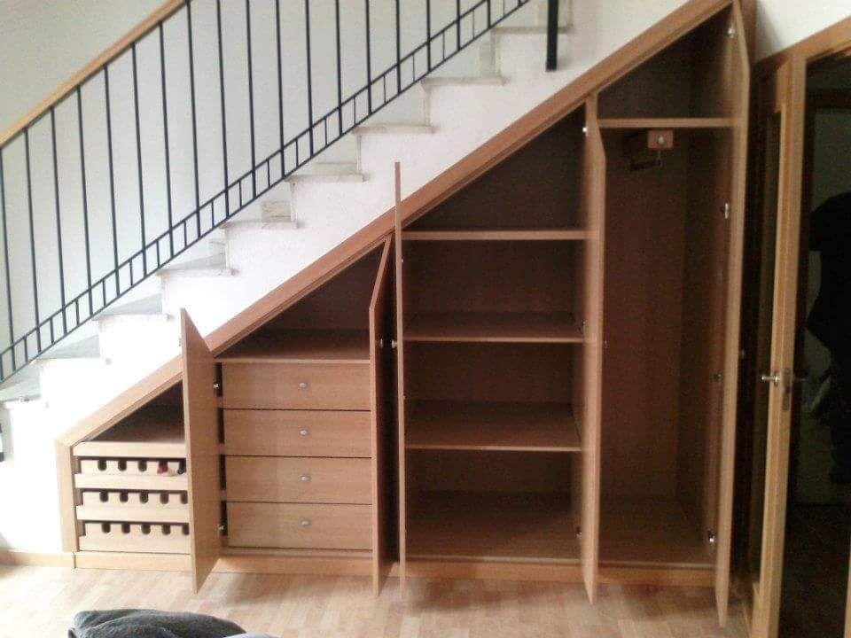 Image result for interior armarios escalera woodworking treppenschrank treppe haus treppenhaus - Armario hueco escalera ...