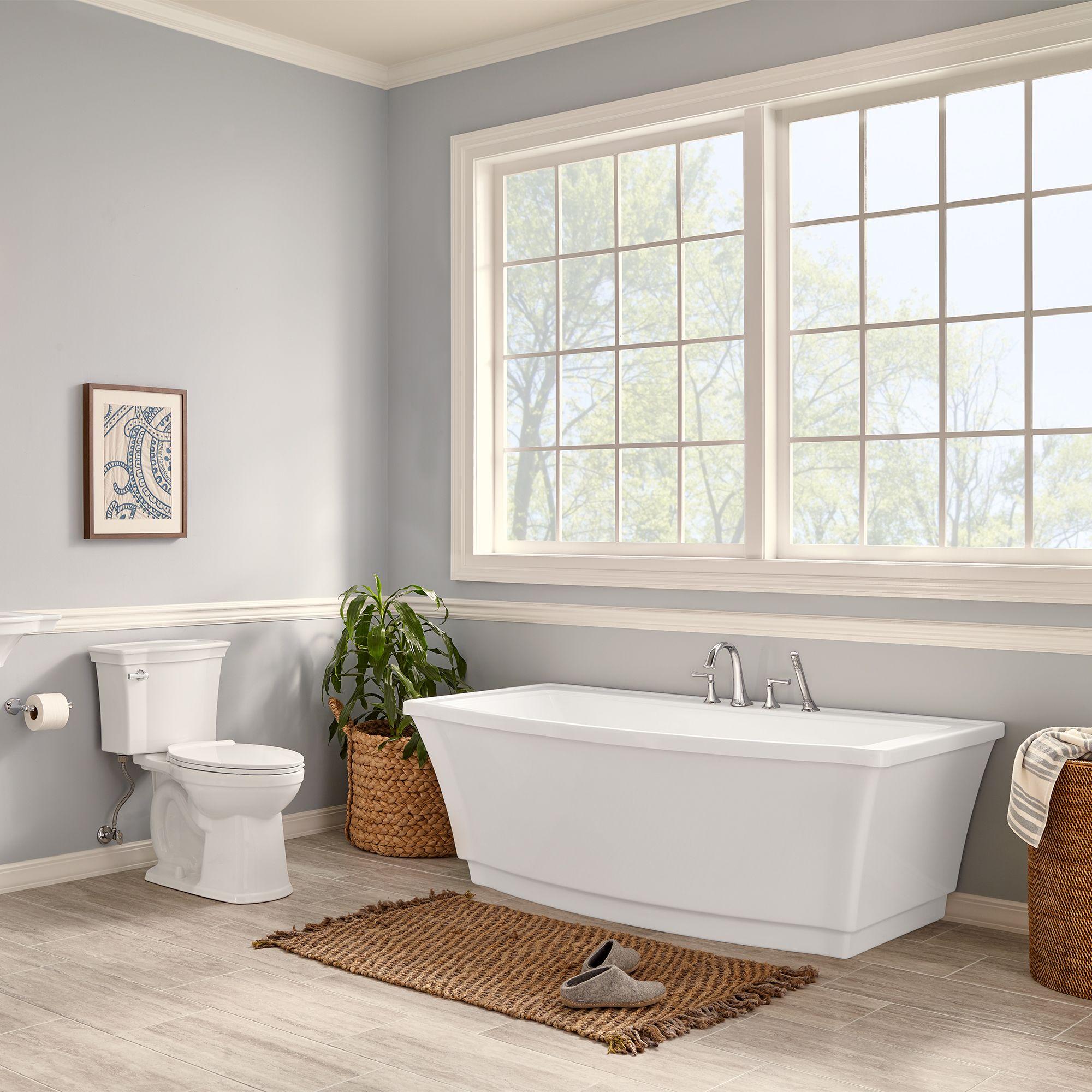 toilet next to freestanding tub - Google Search | Free ...