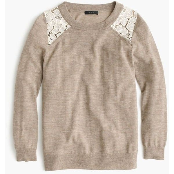 J Crew Tippi Lace Sweater Clothes Lace Sweater Sweaters