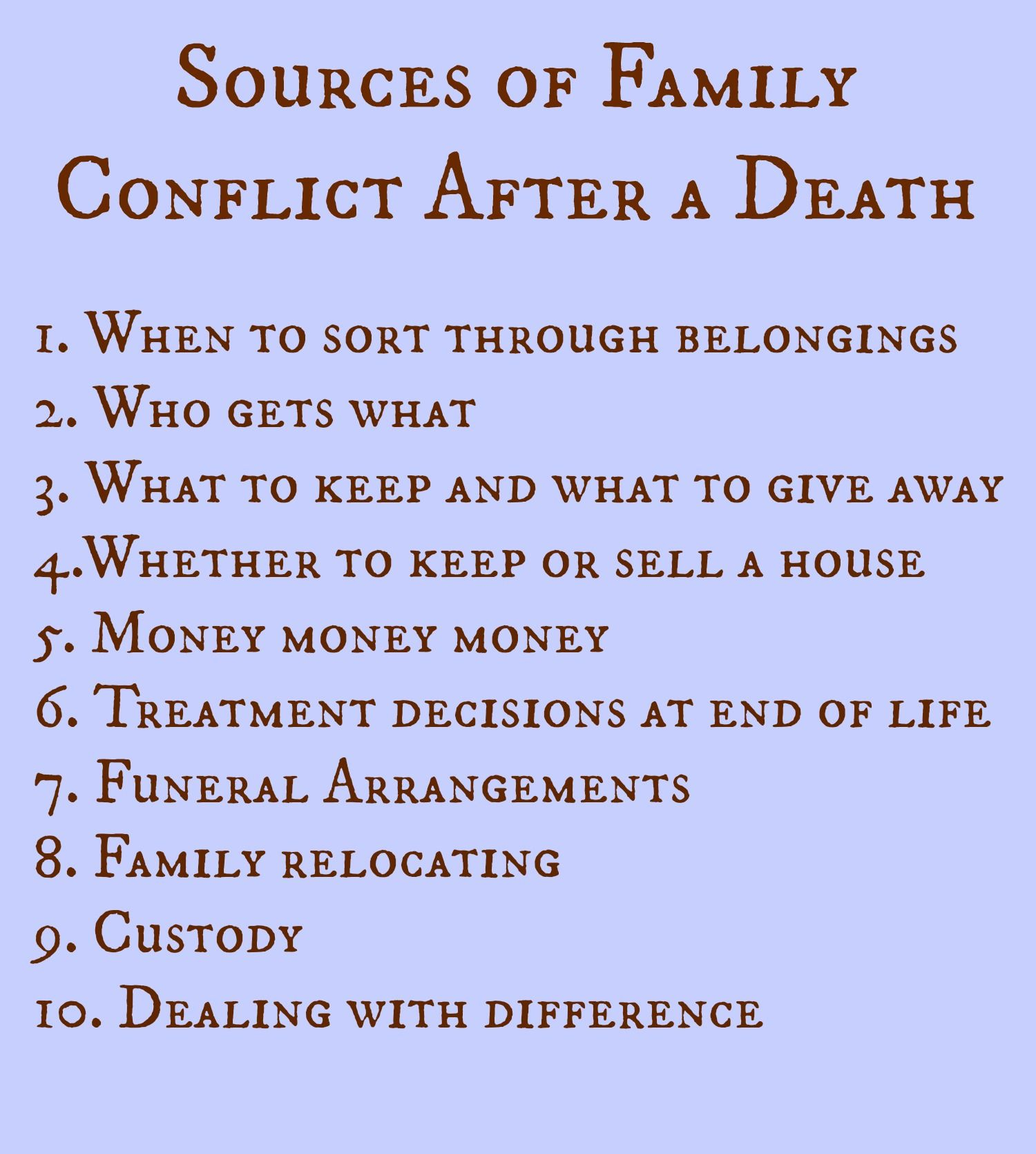 Prayer Quotes For Death In Family: When Death Brings Out The Worst: Family Fighting After A