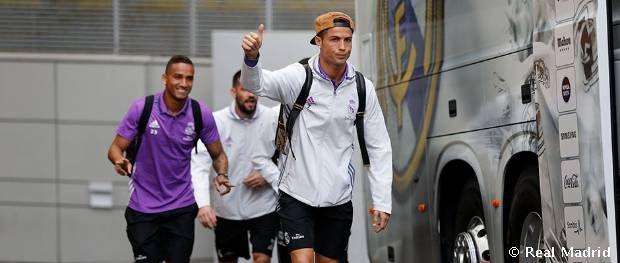 Concentración del Real Madrid